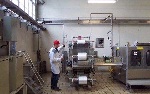 pose film agro alimentaire usine cidou