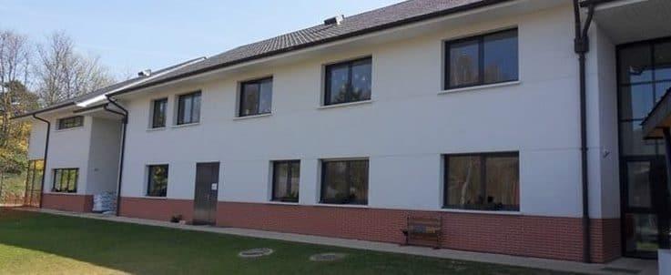 Film solaire sur bâtiment