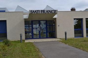 Pose de film anti chaleur intérieur société SAATI France