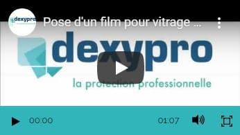 POSE DE FILM SOLAIRE VITRINE LIDL