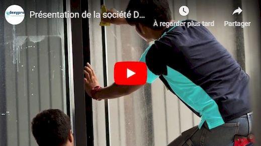 Chaîne Youtube Dexypro film pour vitre